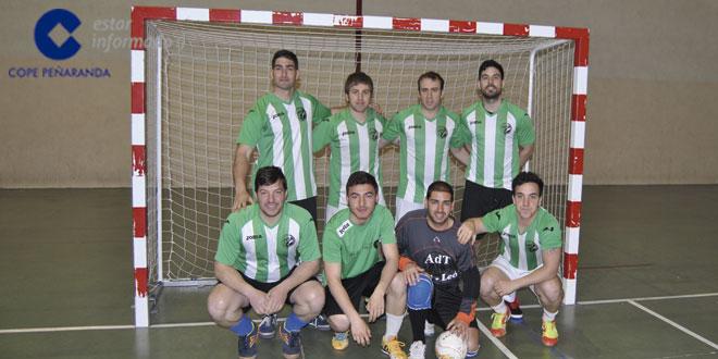 Jugadores del equipo Everon en el Torneo de invierno de FS