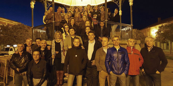 Medio centenar de peñarandinos nacidos en 1968 se reunieron de nuevo en la ciudad