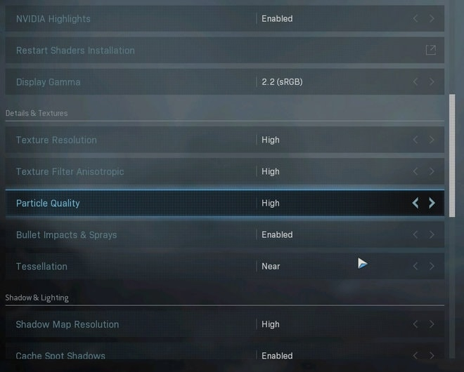 warzone on budget pc high settings
