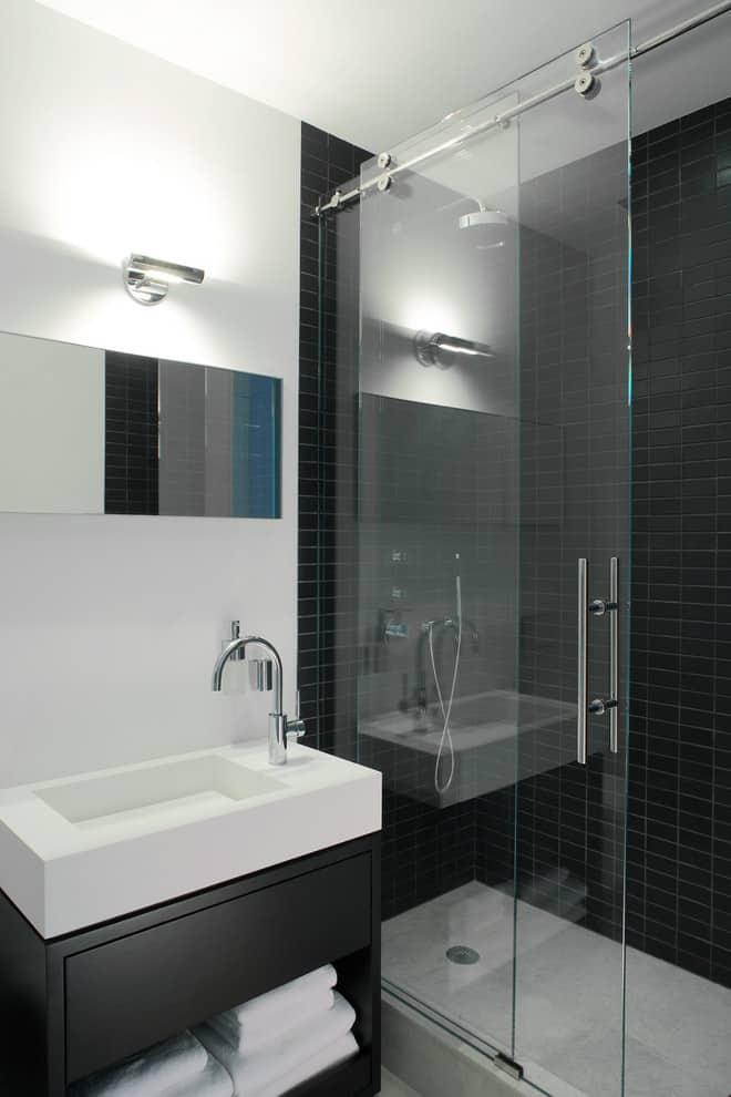 Cabinet-style vanities
