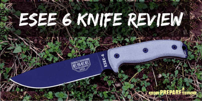 ESEE 6 survival knife Review
