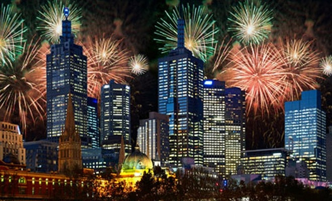 melbourne new years eve fireworks RBS post mix
