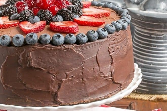 Layered Chocolate Mousse Cake featured image