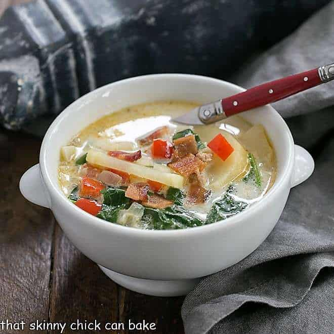 Zuppa Toscana or Tuscan Sausage Soup featured image