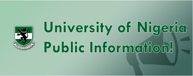 University of Nigeria, UNN post utme screening form