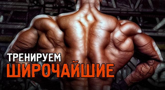Как накачать широчайшие мышцы