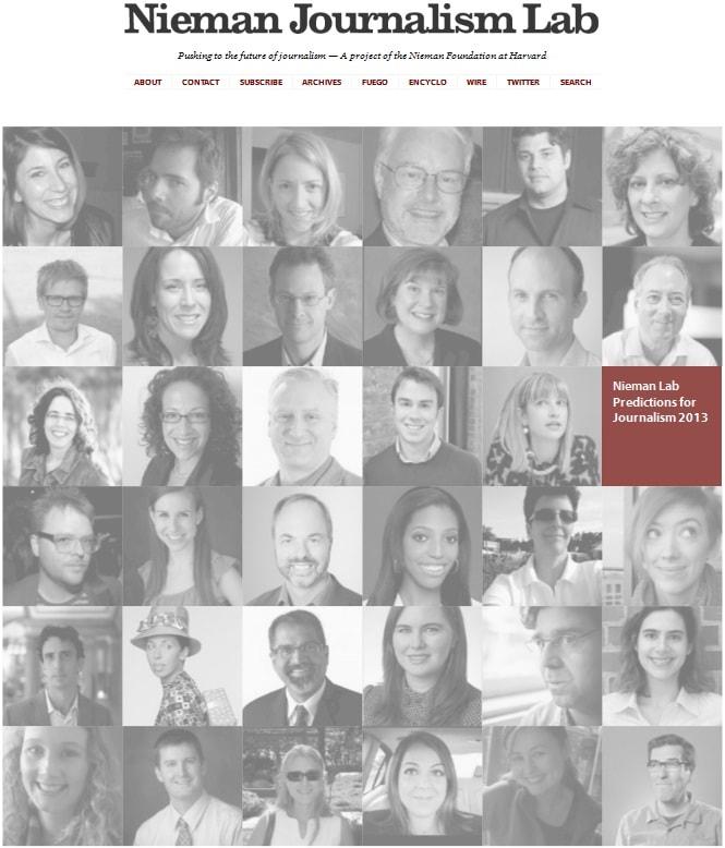 Claves y tendencias para la comunicación y el periodismo en 2013