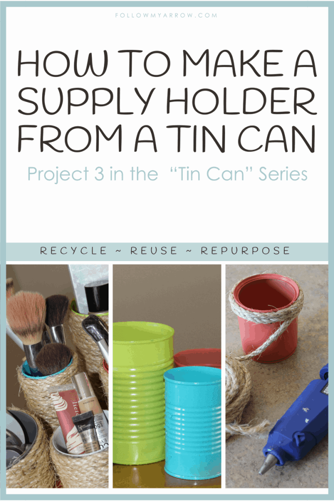 Tin Can Supply Holder