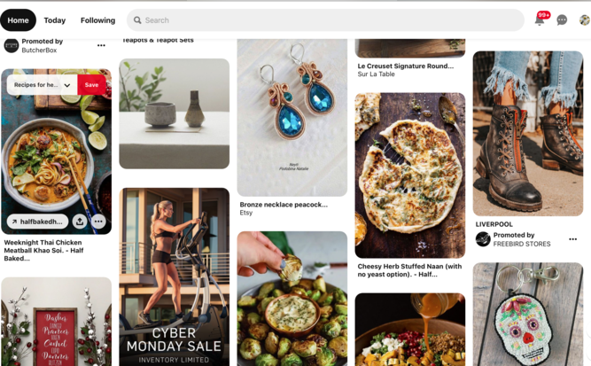 Pinterest Feed Photo Examples