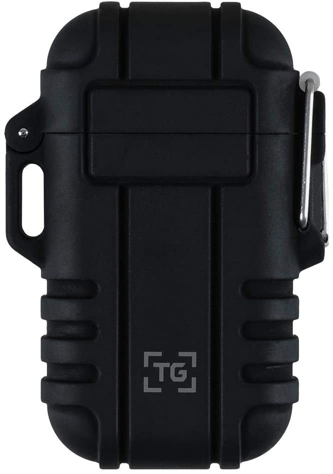 TG Plasma Lighter Windproof Waterproof USB Rechargeable Flameless Dual Arc for EDC Camping Survival Tactical 2