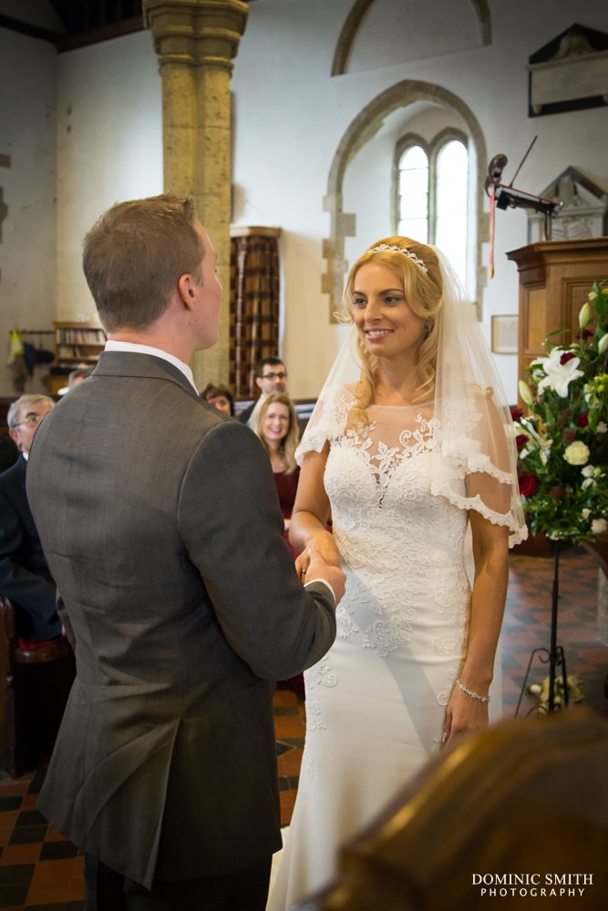 Wedding of Lenia and Tom at St Marys Church 2