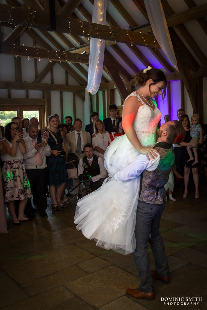 First Dance at Brookfield Barn 3