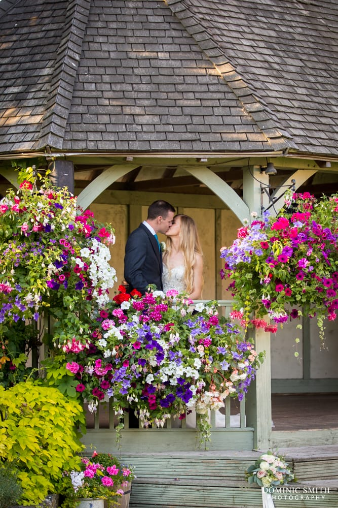 Couple photo at Cooling Castle Barn