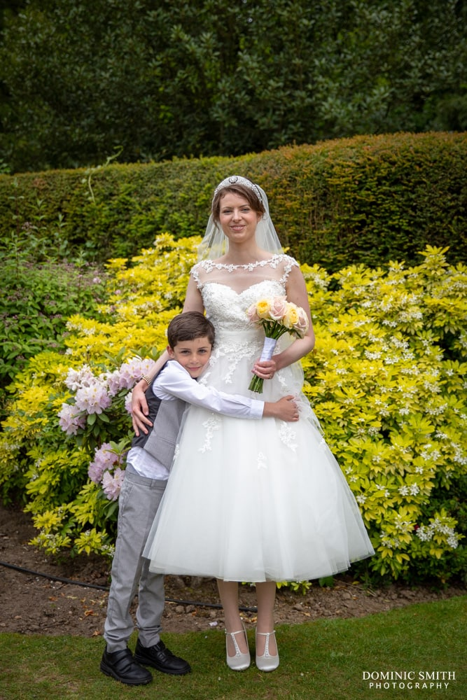 Bride with her Step Son