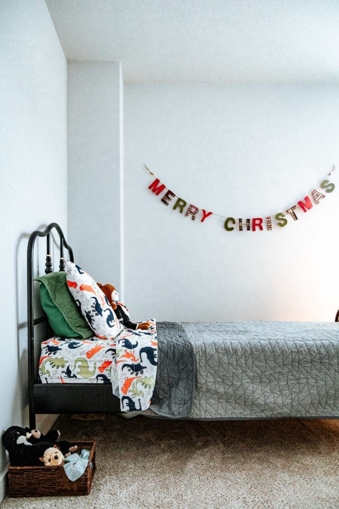 Christmas decor ideas for kids rooms
