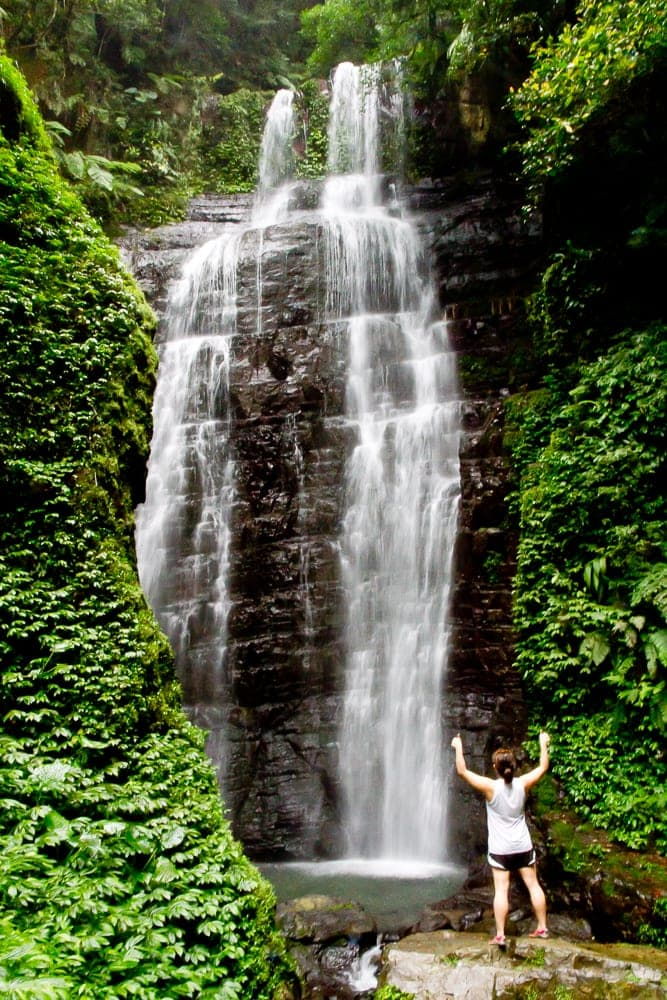 Yuemeikeng Waterfall, one of the best hikes in Jiaoxi, Yilan