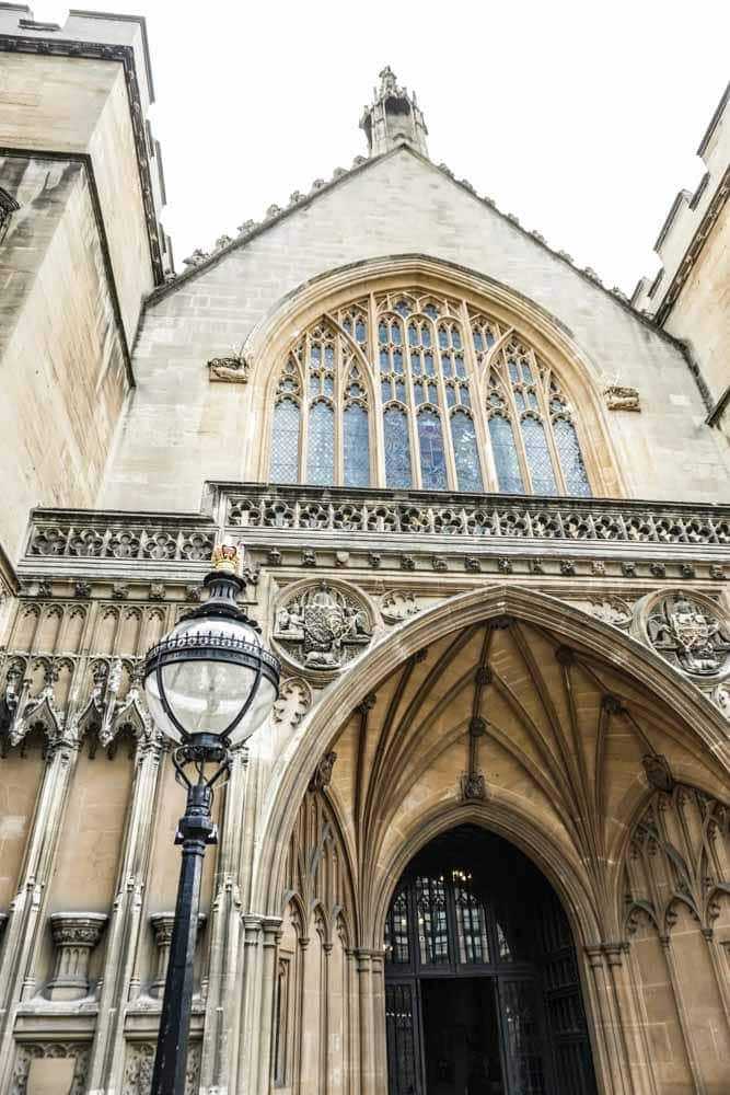 Exterior of Westminster Hall