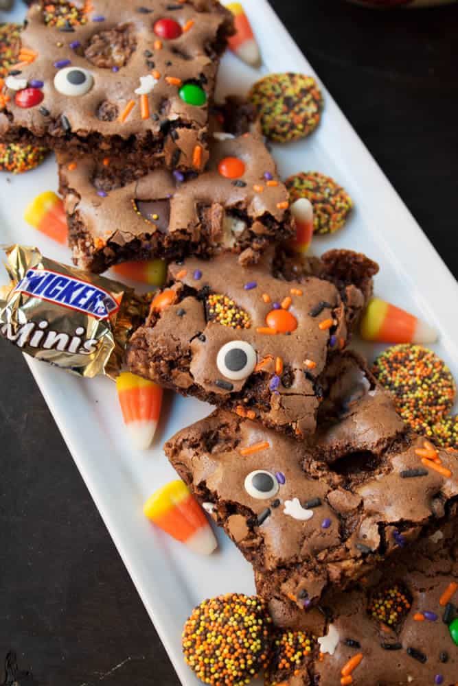 Halloween Brownie Bark REV