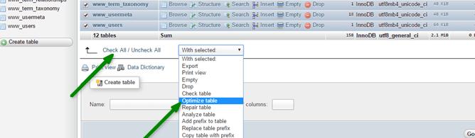 optimize-myphp-admin-wordpress