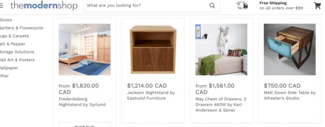 AB test Shopify Images