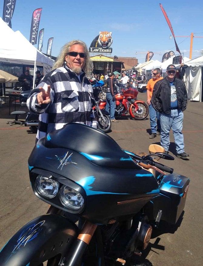 Mark at Cave Creek Tap Haus - Bike Week 2014
