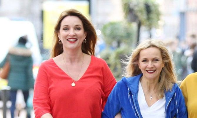 Aisling O'Neill and Isobel Mahon
