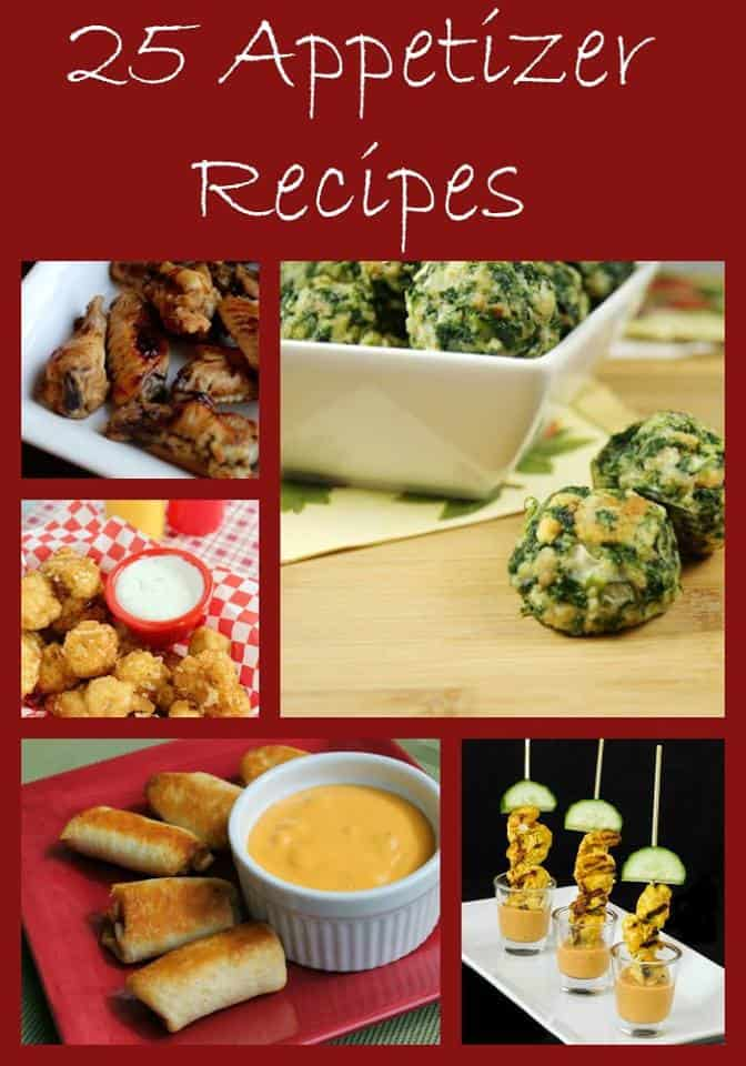 25 Appetizer Recipes