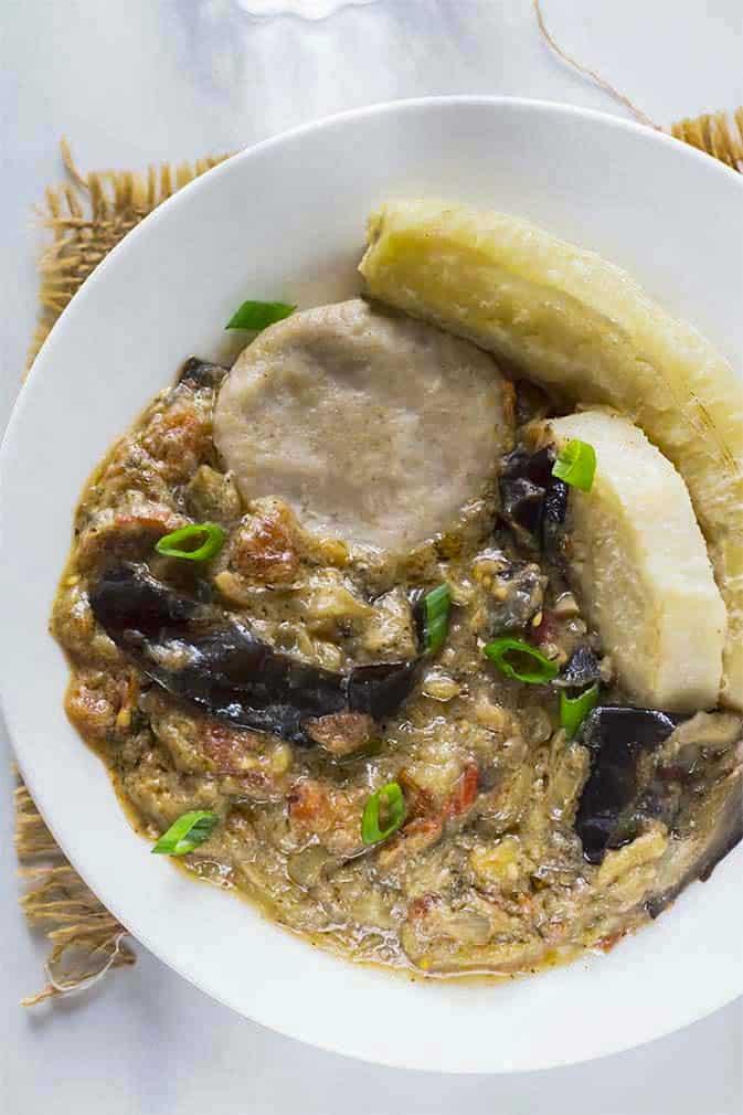 Jamaican Vegan Rundown Recipe
