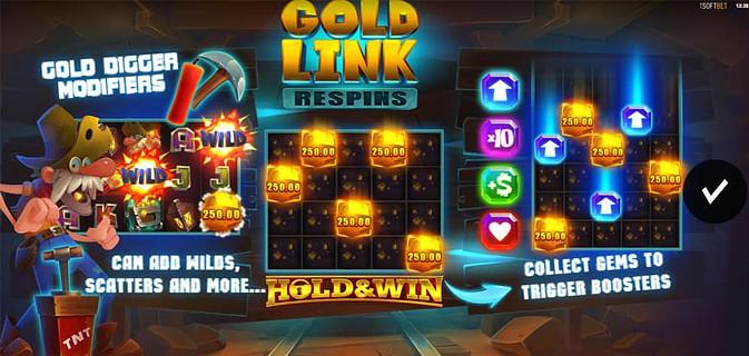 Gold Lightning Link Pokies