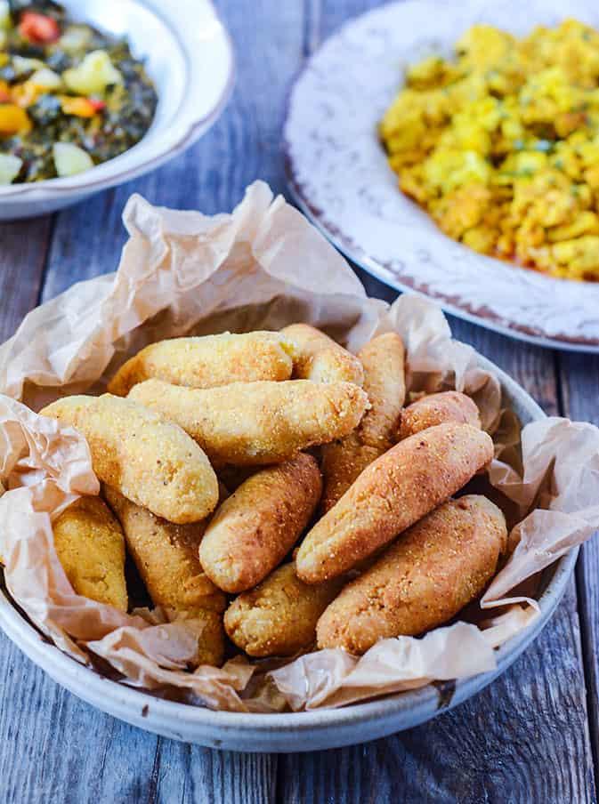 Jamaican Festival Dumplings (Vegan, Gluten-Free)