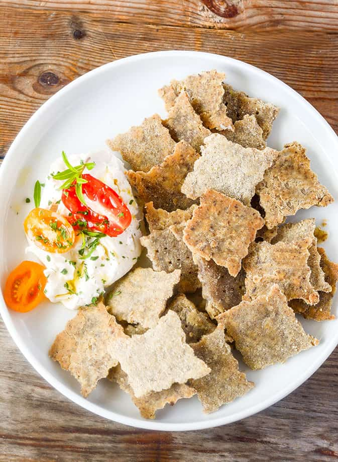 Brown Rice Crackers