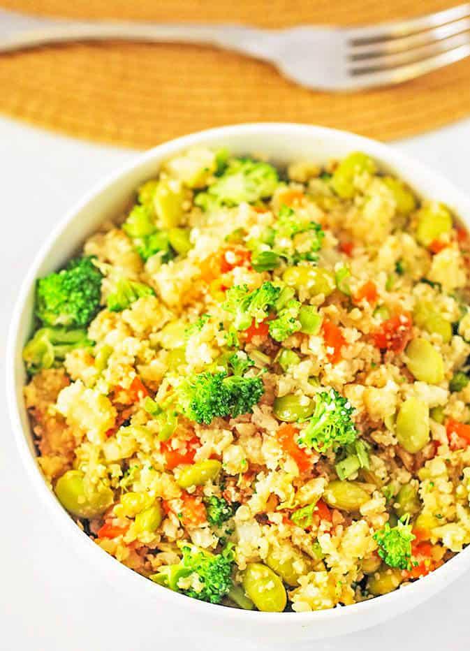 Cauliflower Fried Rice (Gluten Free)