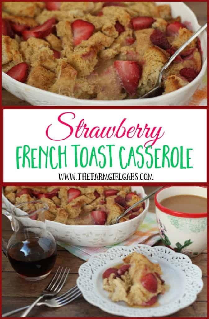 Wake up to this delicious Strawberry French Toast Casserole recipe. Perfect for breakfast or brunch, this recipe is the perfect way to start your day. AD #IDSimplyPure