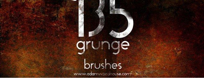 photoshop brushes, photoshop brushes free, grunge brushes, Grunge Brush set Photoshop