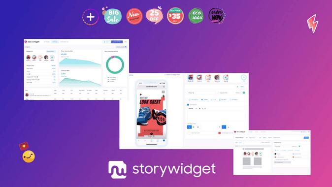 StoryWidget Lifetime Deal
