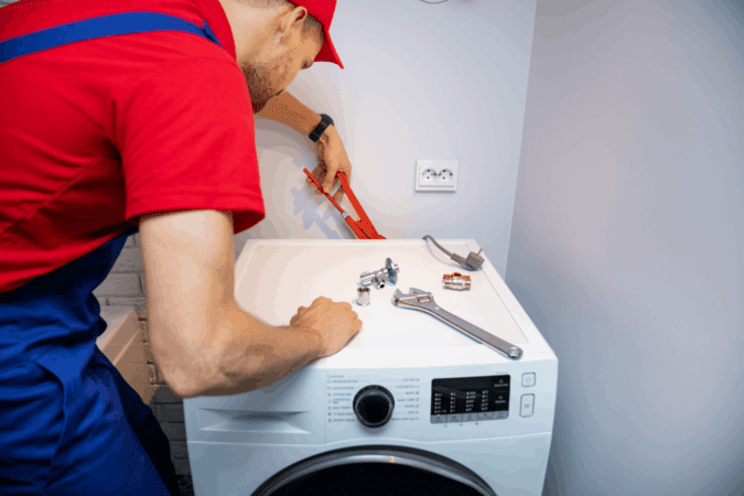 How to Install a Stackable Washer and Dryer in a Tight Space