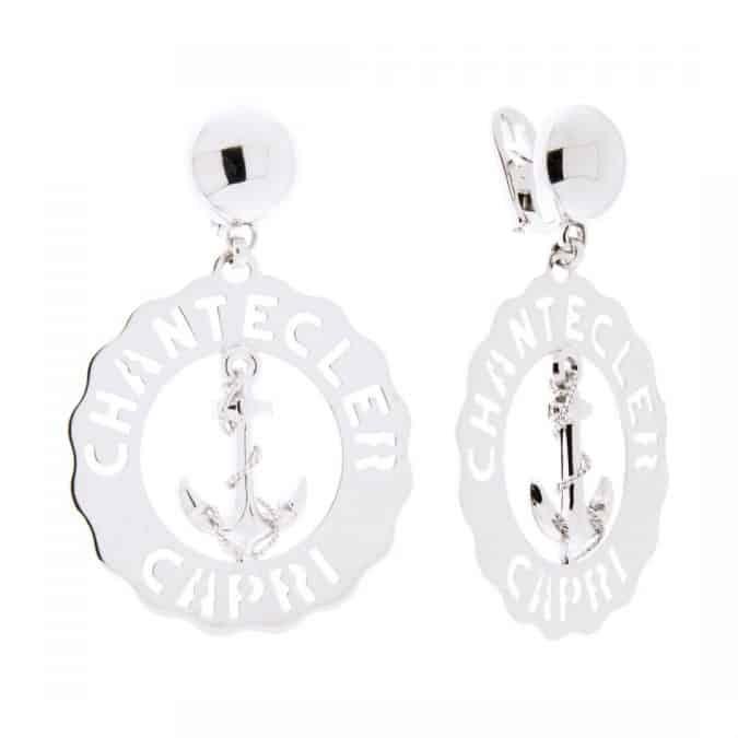 orecchini chantecler argento capri