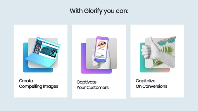 Glorify | Designing Tool For ECommerce Business 3