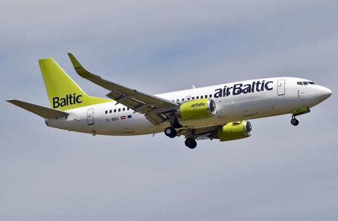 Boeing B737 из парка airBaltic