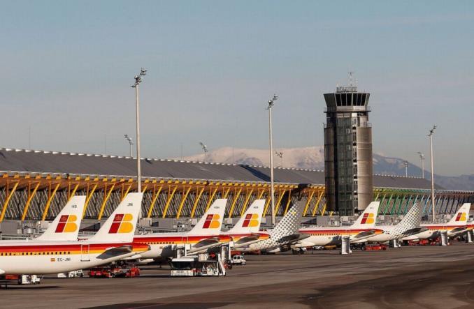 Аэропорт Мадрида