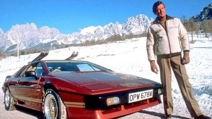 Lotus Esprit авто Джеймса Бонда