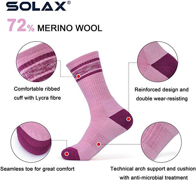 Solax merino wool hiking socks - photo 4