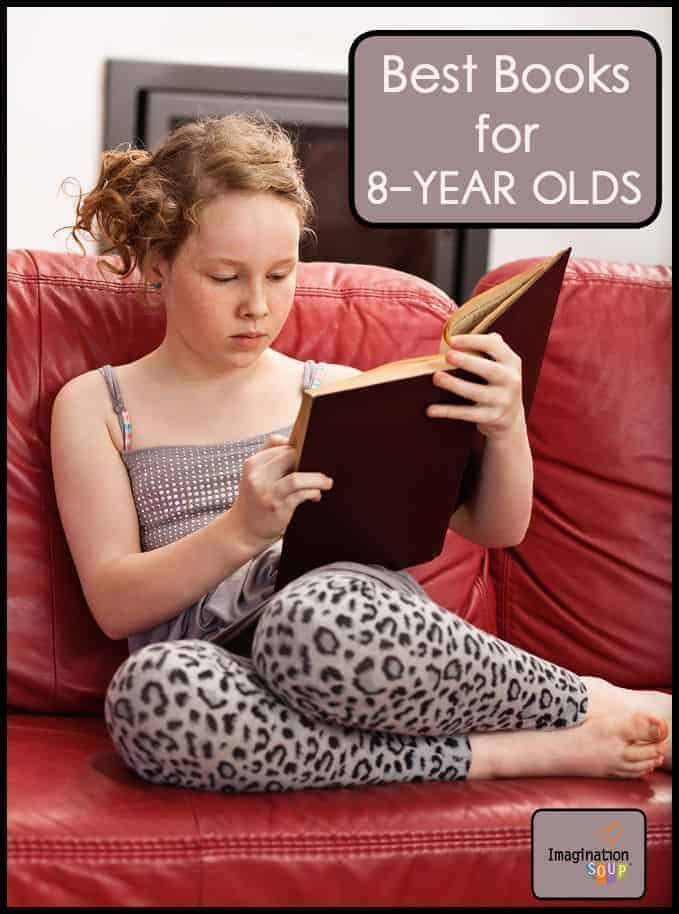 best books for 8 year old girls and boys
