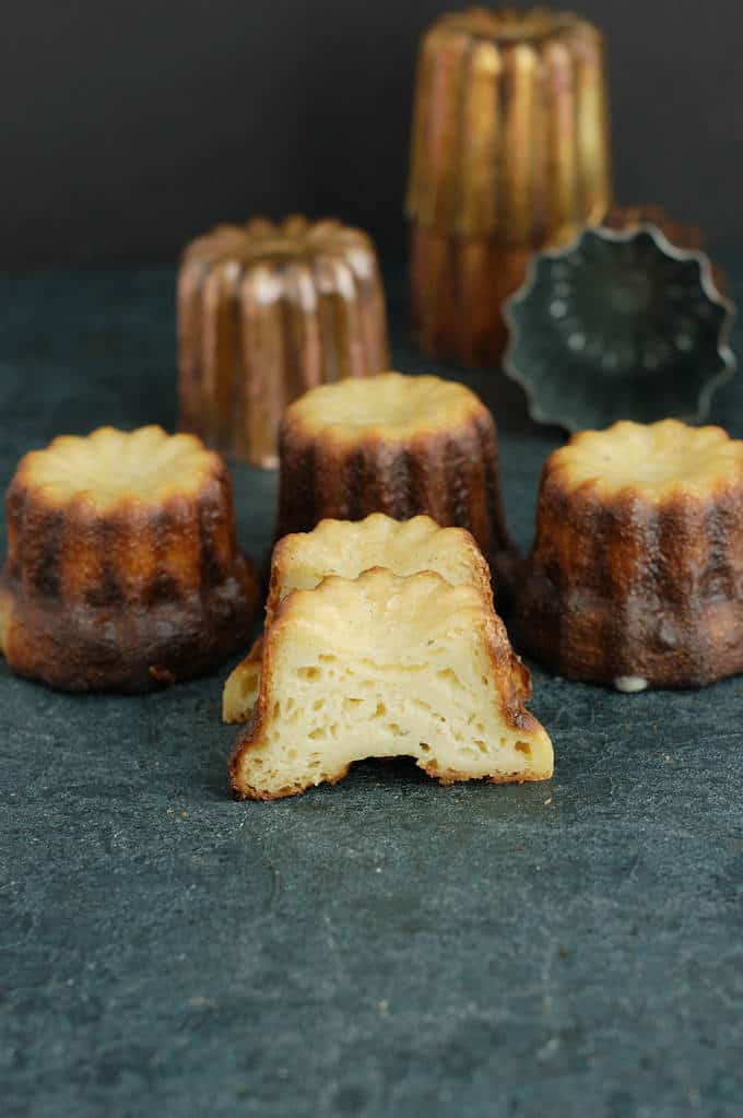 a poorly formed french canele