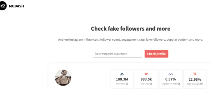 How to identify fake follower on Instagram