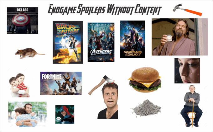 endgame spoilers without context