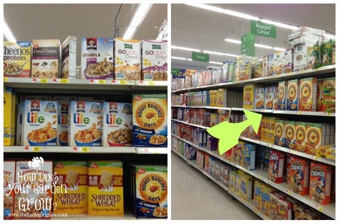 Quaker Cereal at WalMart