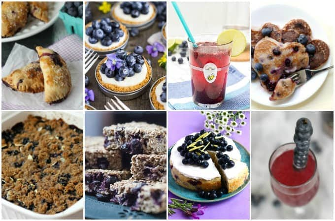 Blueberries and summer go hand and hand. Celebrate their bounty with this collection of 70 Delicious Blueberry Recipes.