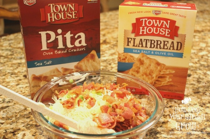 Spicy Swiss & Bacon Dip Ingredients