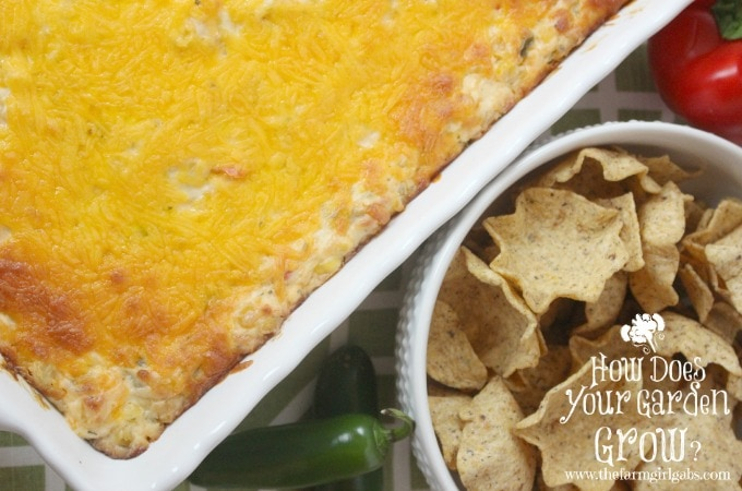 Kicked Up Corn Dip is a perfect dip recipe for your game day party.